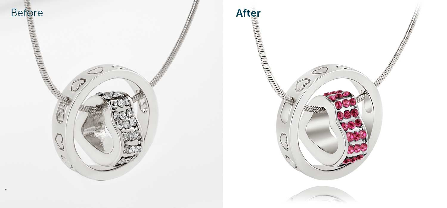 image retouching, photo retouching, jewellery retouching, professional retouching